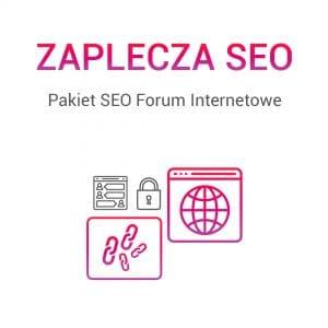 Zaplecza SEO forum internetowe