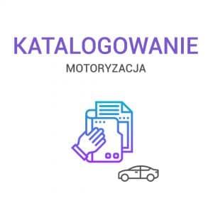 Katalogowanie - Motoryzacja